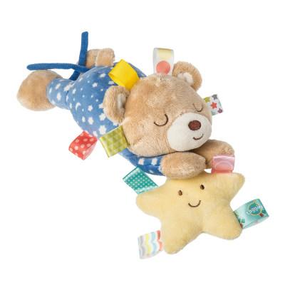 美国 Wubbanub 星空小熊玩偶 毛绒玩具哄睡安抚玩偶