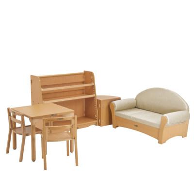 Kohburg/科宝 视听角 沙发 桌椅 书柜 儿童家具组合