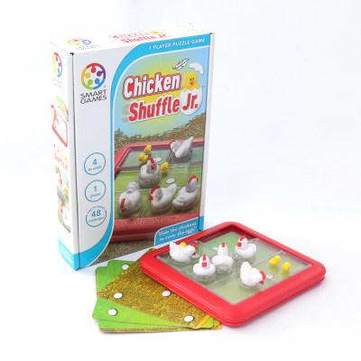 比利时 Smart Games鸡妈妈护崽记 益智玩具桌游规划能力专注 4岁+(便携旅行系列)