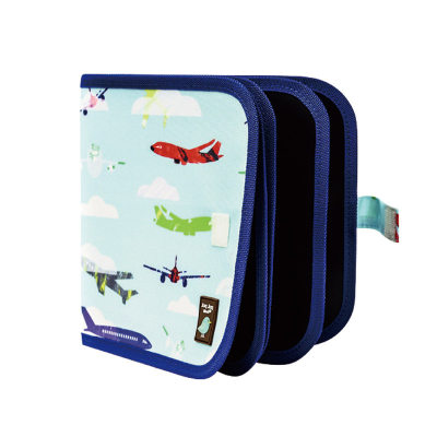 美国 Jaq Jaq Bird 儿童涂鸦可擦便携画板旅行绘画本小黑板家用幼儿双面
