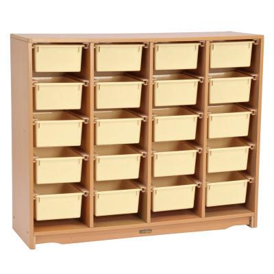 Kohburg/科宝 抽屉柜子带收纳盒(1238*381*1016)整理储物盒防脱落 儿童家具